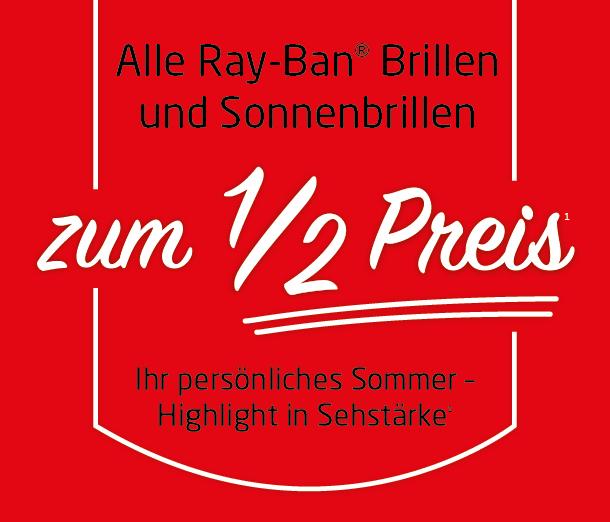 Ray-Ban zum 1/2 Preis (1)